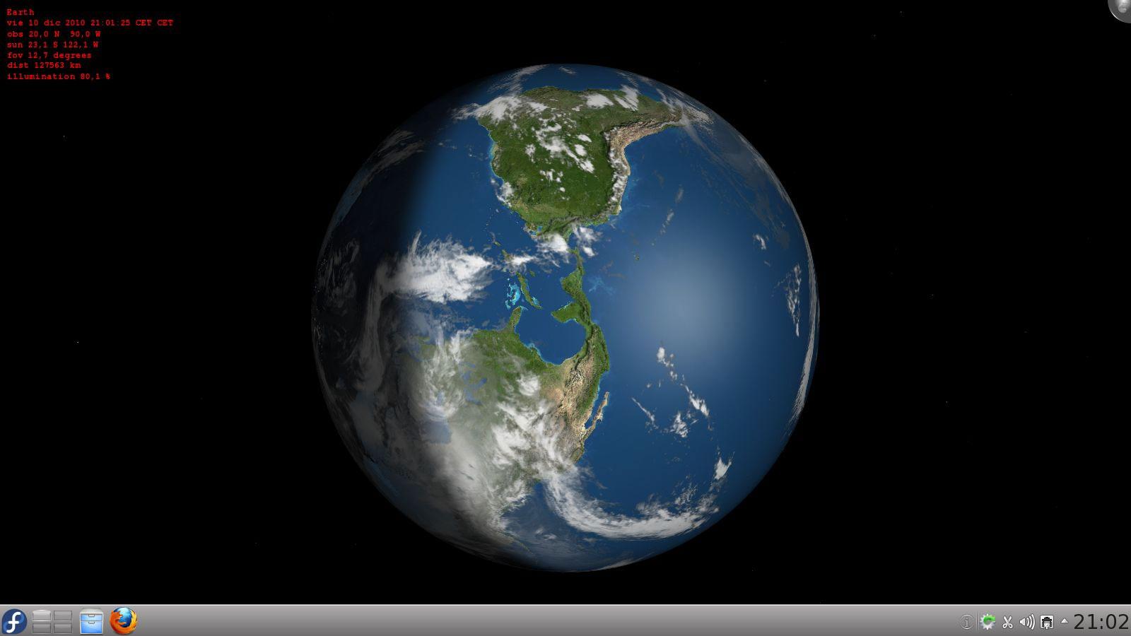 La tierra en tu escritorio enchufa2 - El tiempo en tu escritorio ...
